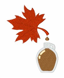 Maple Syrup Tap embroidery design