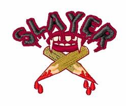 Vampire Slayer embroidery design