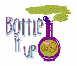 Bottle It Up embroidery design