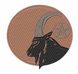 Black Goat embroidery design