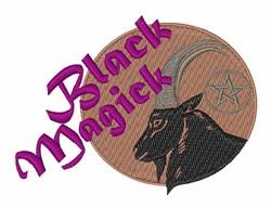 Black Magick embroidery design