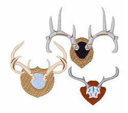 Hunter Trophies embroidery design