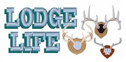 Lodge Life embroidery design