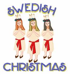 Swedish Christmas embroidery design
