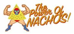 Power of Nachos embroidery design