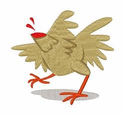 Headless Chicken embroidery design