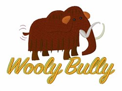 Wooly Bully embroidery design