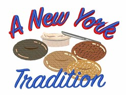 New York Tradition embroidery design