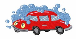 Car Wash embroidery design