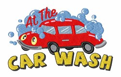 The Car Wash embroidery design