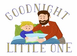 Goodnight Little One embroidery design