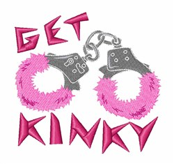 Get Kinky embroidery design