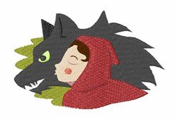 Red Riding Hood embroidery design