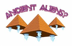 Ancient Aliens? embroidery design