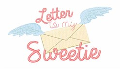 Letter To Sweetie embroidery design