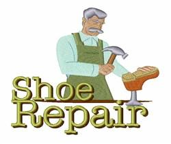 Shoe Repair embroidery design