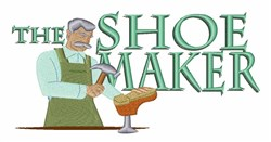 Shoe Maker embroidery design