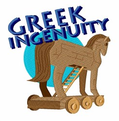 Greek Ingenuity embroidery design