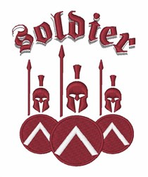 Phalanx Soldier embroidery design