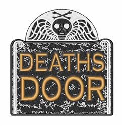 Deaths Door embroidery design