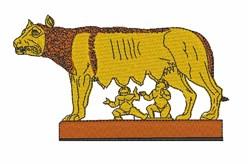 Romulus & Remus embroidery design