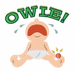 Baby Owie! embroidery design