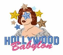 Hollywood Babylon embroidery design