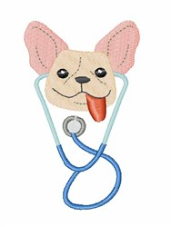 Dog Doctor embroidery design