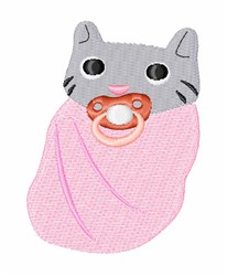 Baby Cat embroidery design