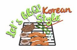 Korean Style embroidery design