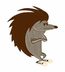 Porcupine embroidery design