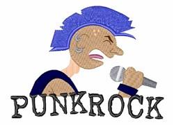Punk Rock embroidery design