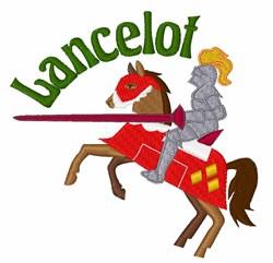 Lancelot embroidery design