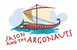 Jason & Argonauts embroidery design