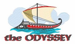 The Odyssey embroidery design