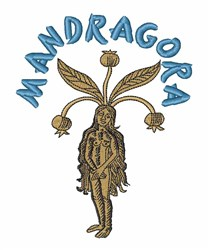Mandragora embroidery design