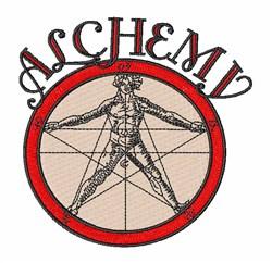 Alchemy embroidery design