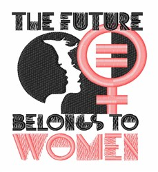 Future To Women embroidery design