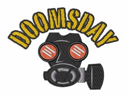 Doomsday embroidery design