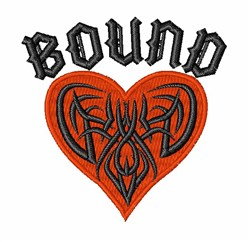 Heart Bound embroidery design