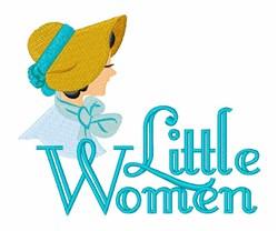 Little Women embroidery design
