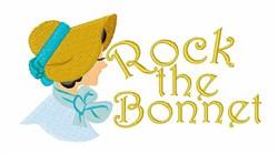 Rock the Bonnet embroidery design