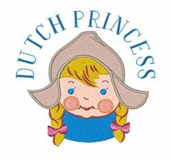 Dutch Princess embroidery design