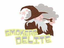 Smokers Delite embroidery design