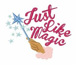 Like Magic embroidery design