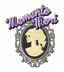 Memento Mori embroidery design