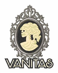 Vanitas embroidery design