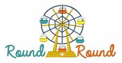 Round & Round embroidery design