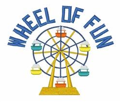 Wheel of Fun embroidery design