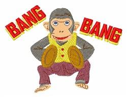 Bang Monkey embroidery design